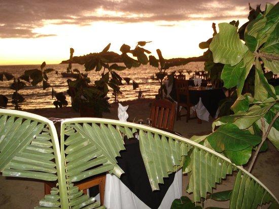 Orangea Village : Cena sulla spiaggia
