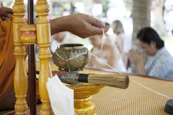 Centara Koh Chang Tropicana Resort: Zeremonie