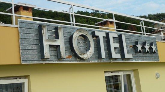 Hotel Internazionale: Hotellogo