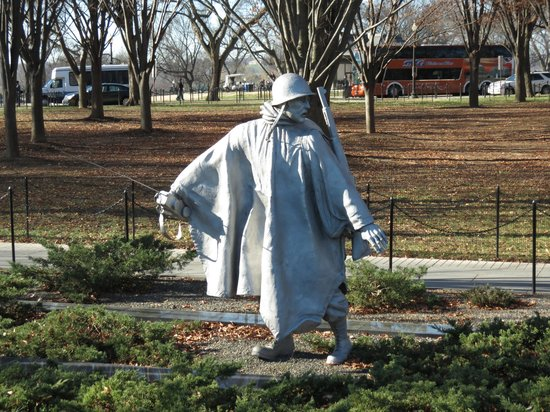 Korean War Veterans Memorial : Memoriale Corea