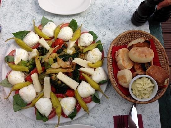 Pizzeria Bellini: Antipasto Bellini (vegetarisch)