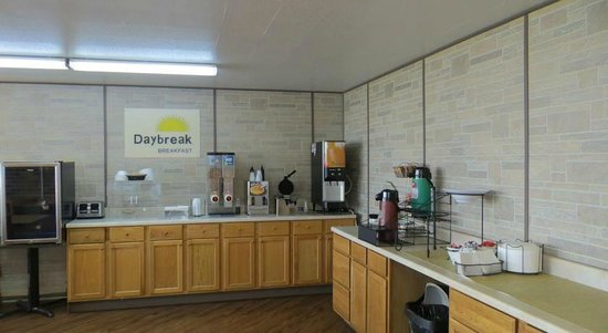 Days Inn Princeton: Breakfast Room
