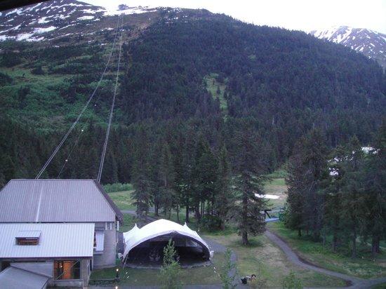 Alyeska Hostel: el hotel cuenta con un funicular.