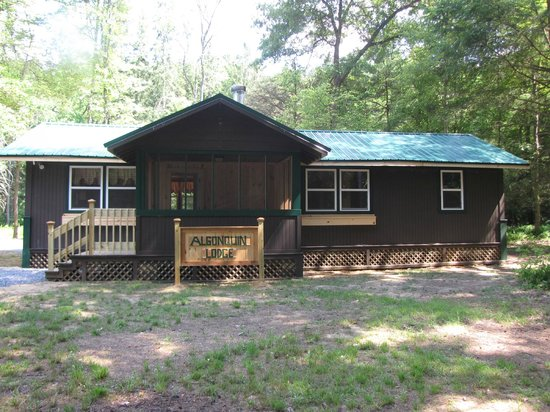 YMCA Camp Coffman : Algonquin Family Rental Lodge at Camp Coffman