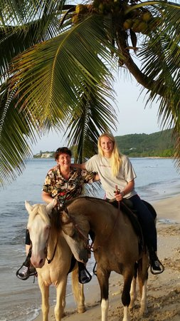 Equus Rides: On the beach