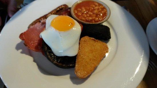 The Angel Inn : Breakfast
