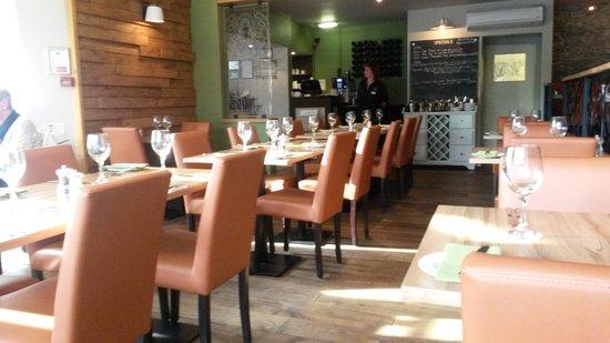 The Angel Inn : The Dining Room