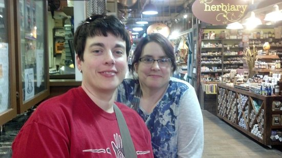 City Food Tours Philadelphia: Reading Market--great place to end the tour.