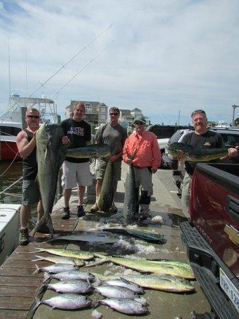 The Breakwater Inn: fishing trip