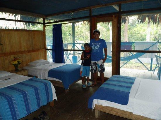 Muyuna Amazon Lodge : habitación