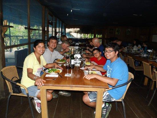 Muyuna Amazon Lodge : excelente comida