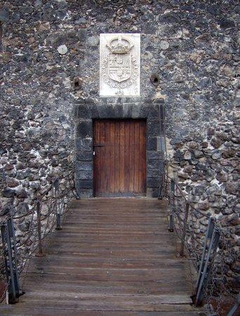 Castillo de San Felipe: Brasão