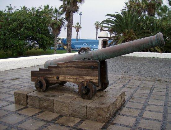 Castillo de San Felipe: Canhão