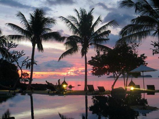 Bintang Flores Hotel: Tolle Sonnenuntergänge!