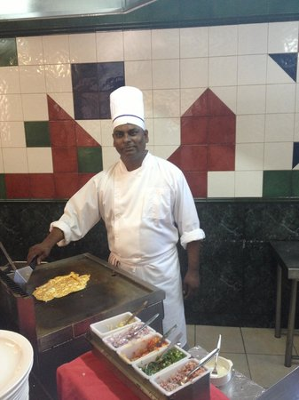 Silver Beach Hotel : We loved the Spanish omelettes in the morning