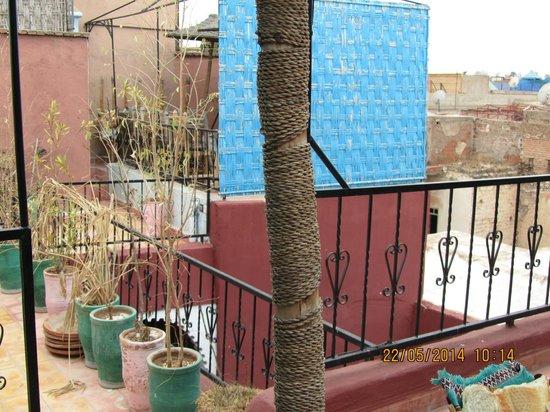 "Riad Tarik : ""Rooftop Tearrace"""