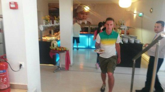 Filoxenia Hotel: Dining area
