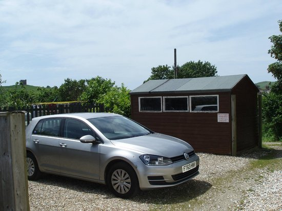 Wheelwrights Cottage: Off-street parking in a private area