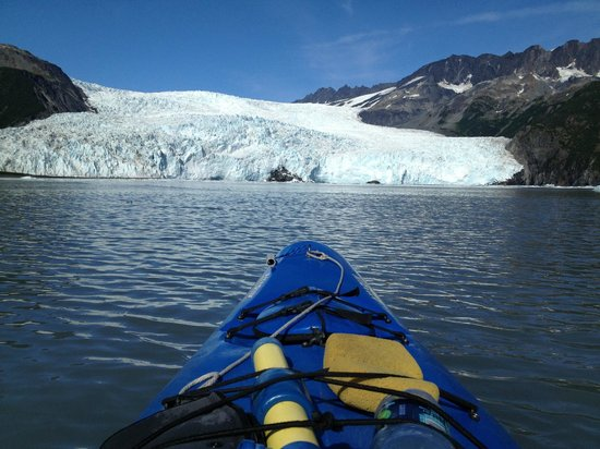 Kayak Adventures Worldwide: Lunch time view