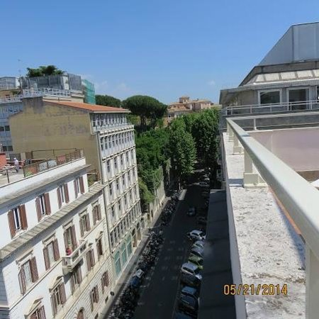 Rome Times Hotel: Roof top terrace view
