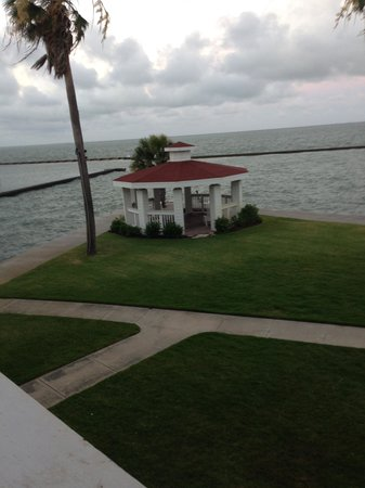 Lighthouse Inn at Aransas Bay: View from room 45