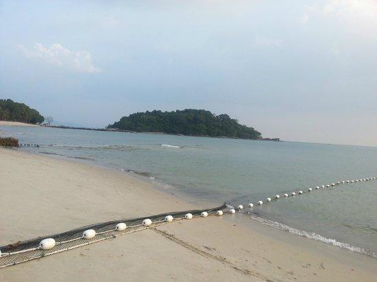 Berjaya Langkawi Resort - Malaysia : Пляж при отливе