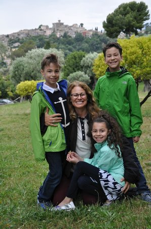 Alpes Guides Interprètes : Sylvie with our three children