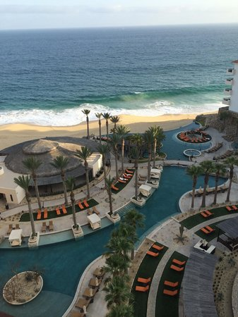 Grand Solmar Land's End Resort & Spa : View from our Balcony - Family pool, Las Olas Bar and La Roca Restauran