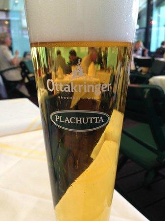 Plachutta Wollzeile: dit bier niet missen, kristal helder en zalig