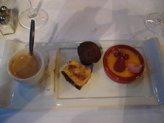 Chez la Mere Pourcel: Bon café gourmand