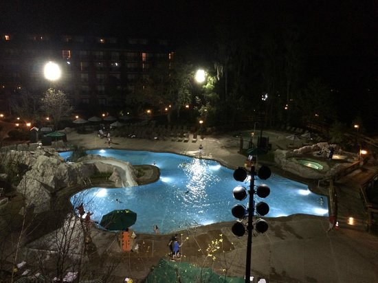 Disney's Wilderness Lodge: View from our room