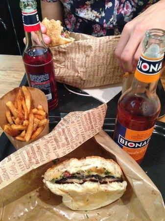 Big Fernand: Burger végé