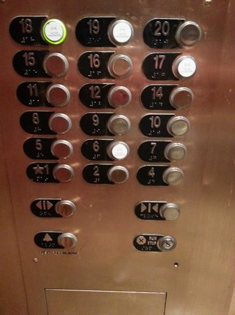 Doubletree Hotel Houston Downtown : Floors 17,18, & 19 are the Hilton Honors Floors