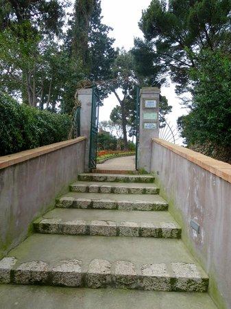 Giardini di Augusto: View of the garden entrance