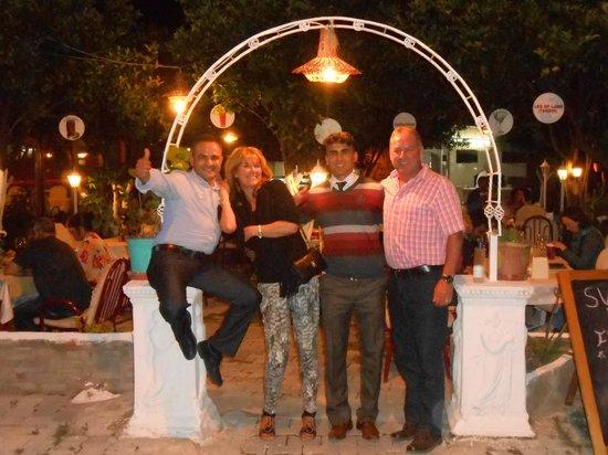 Diyar Paradise: Murat and staff
