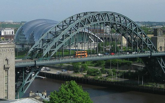 Newcastle Castle : The Tyne Bridge