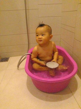 Eastin Grand Hotel Sathorn: 請飯店提供baby浴盆