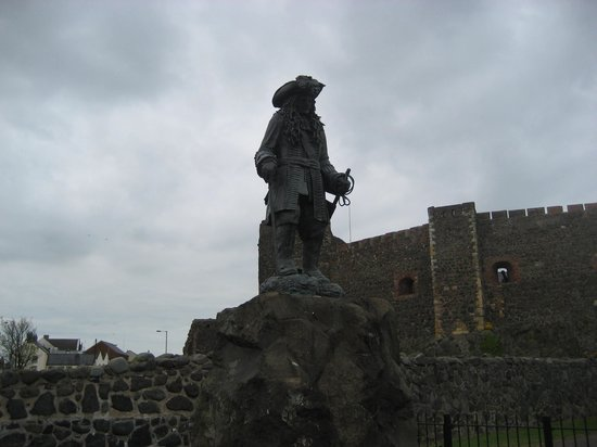 Carrickfergus Castle : King William