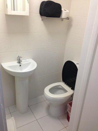 Knaresborough Place Short Stay Apartments: Tiny bathroom