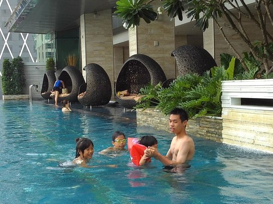 Eastin Grand Hotel Sathorn: 水蠻冷的