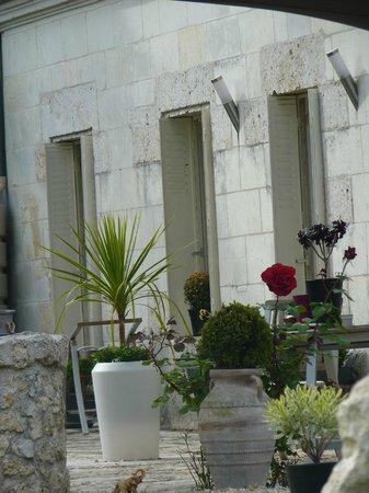 Lyzen : terrasse