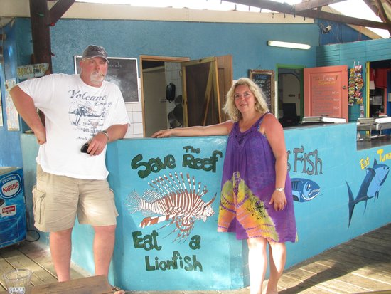 Sunscape Curacao Resort Spa & Casino: Save the Reef:  Eat a Lion Fish!