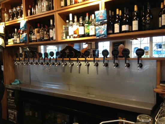 Sprig & Fern Tavern : Pick a beer... great selection!