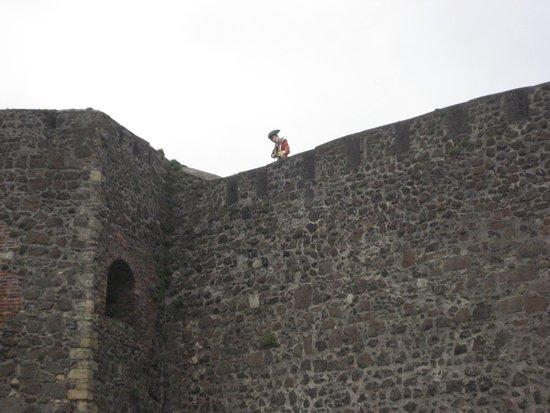 Carrickfergus Castle: Sniper!