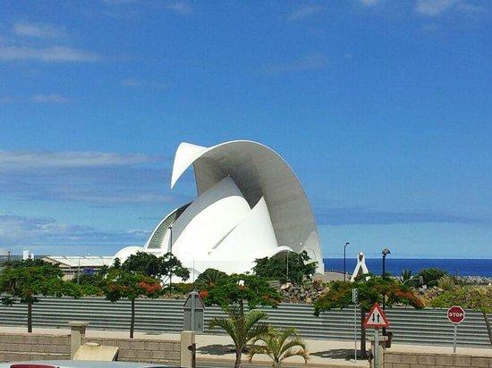 Tenerife Auditorium (Auditorio de Tenerife): Auditorium, Santa Cruz, Tenerife