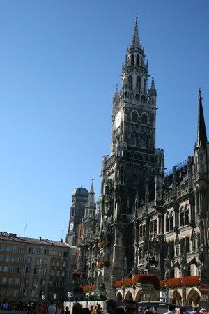 Marienplatz: Башня ратуши