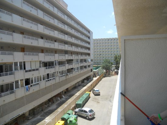 BCM Hotel: View from Balcony