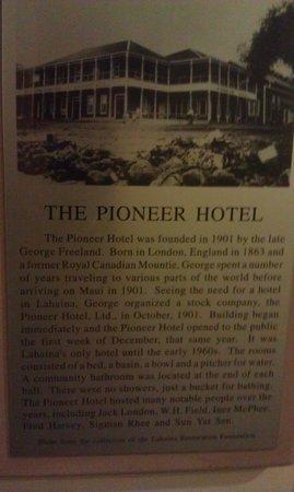 Best Western Pioneer Inn: History of Pioneer Inn