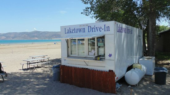 Laketown Drive In at Rendezvous Beach