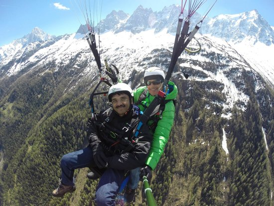 Air Sports Chamonix: flyin